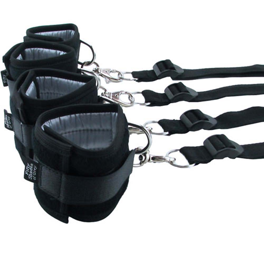 Fifty Shades of Grey Hard Limits Restraint Kit Black - View #3