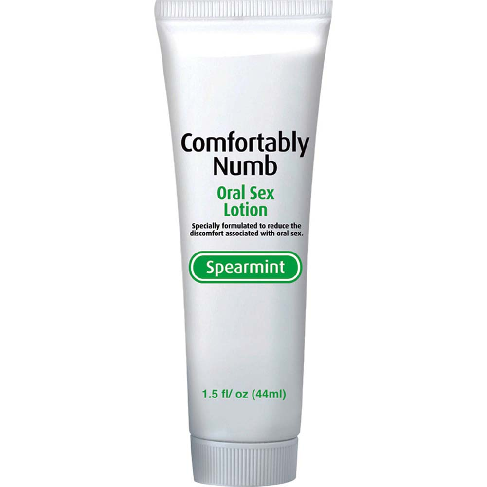 Comfortably Numb Oral Sex Lotion 1.5 Fl.Oz 44 mL Spearmint - View #2