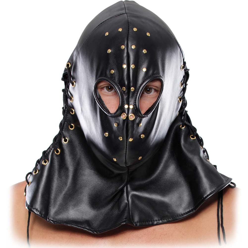Fetish Fantasy Extreme Executioner Hood Black - View #2