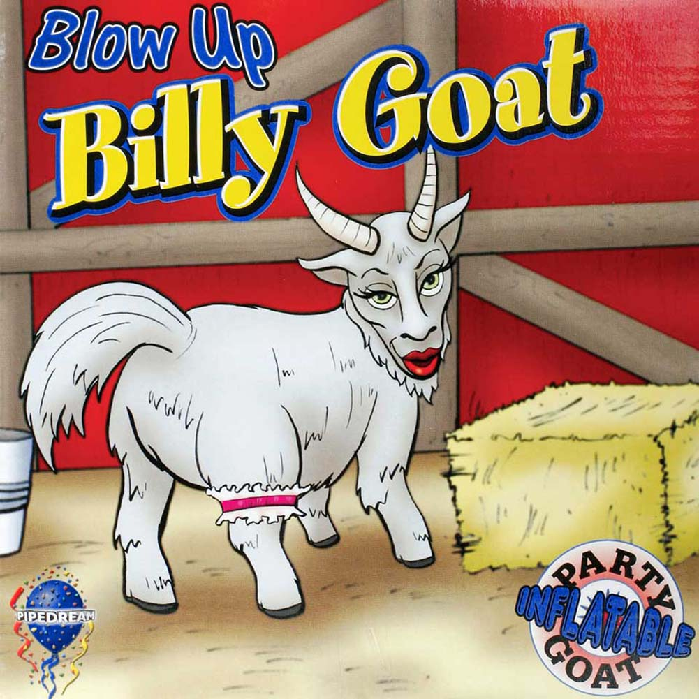 Blow Up Billy Goat Inflatable Party Doll - View #2