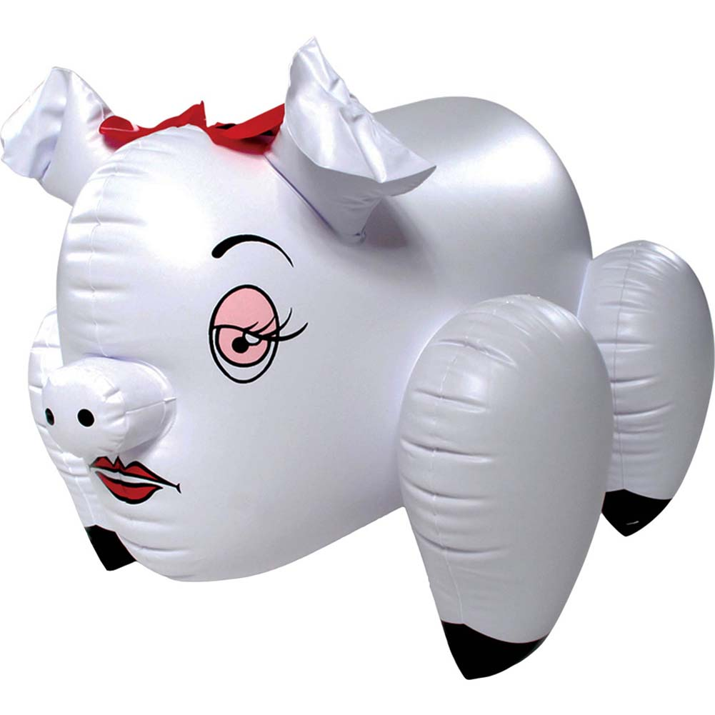 Erotic Love Piggie Blow-Up Inflatable Party Doll - View #2