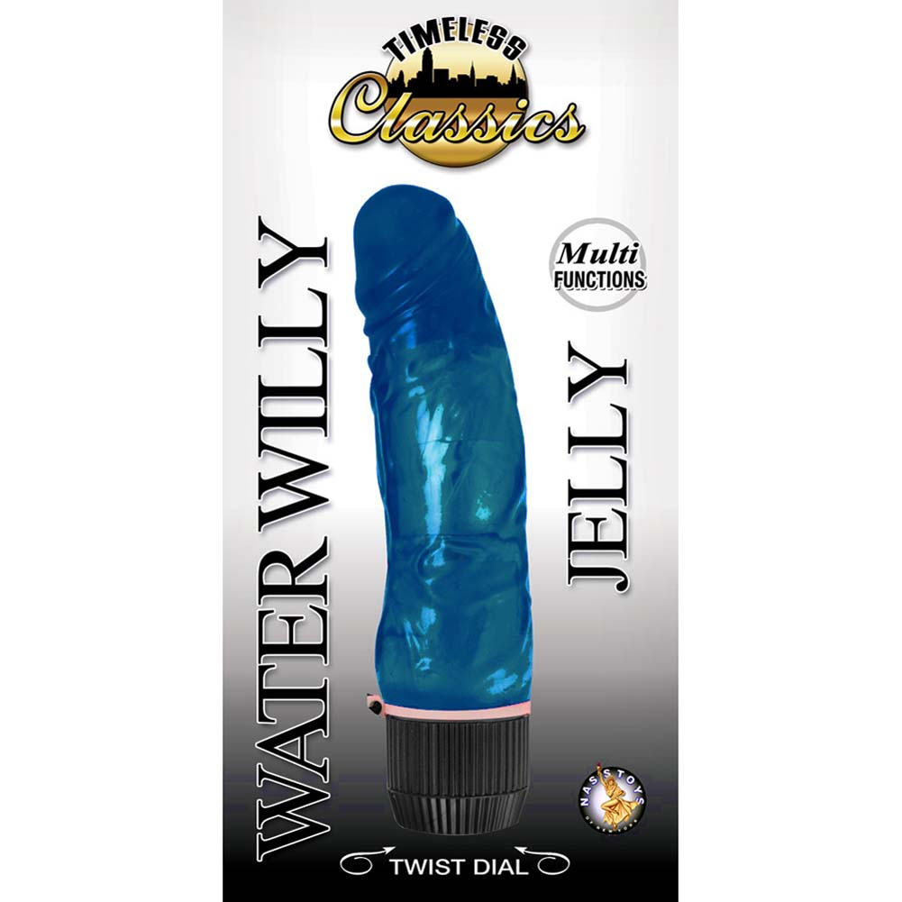 "Timeless Classics Water Willy Jelly Vibe 7"" Blue - View #1"