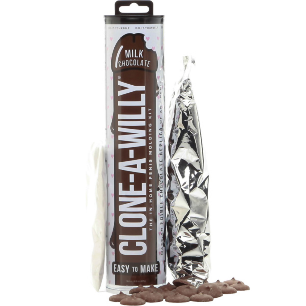 Clone A Willy Do It Yourself Milk Chocolate Edible Dildo Kit - View #1