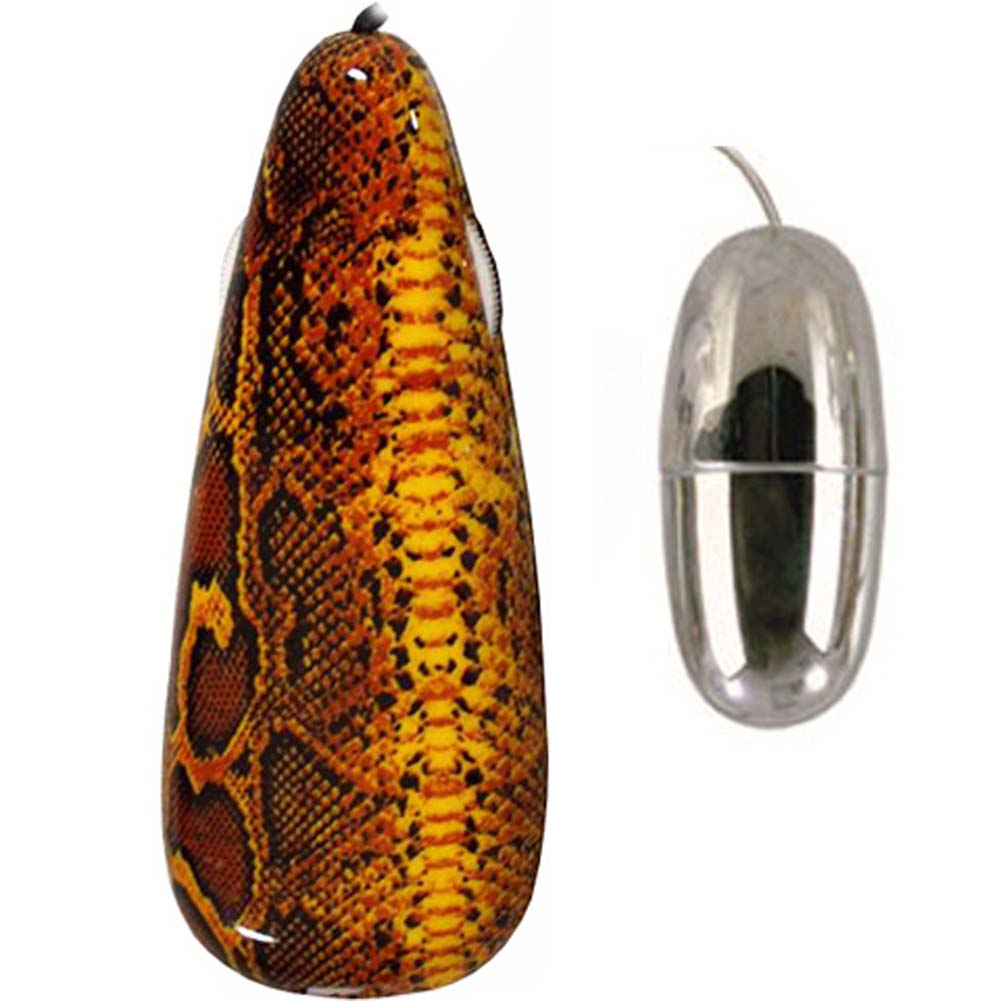 Primal Instinct Vibrating Bullet with Snake Remote Control - View #1