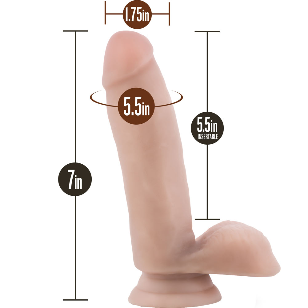 "Blush Loverboy the Surfer Dude Dildo 7"" Natural - View #1"