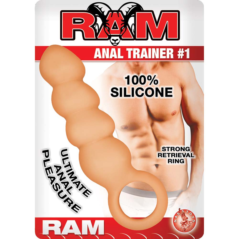 "Ram Anal Trainer 1 Anal Probe 5.5"" Natural - View #1"