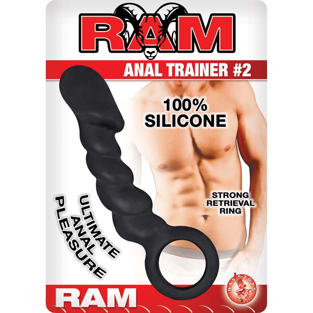 "Ram Anal Trainer 2 Anal Probe 5.5"" Black - View #1"