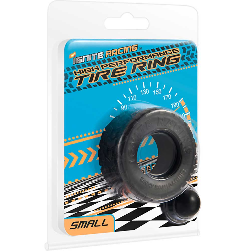 """Ignite High Performance Tire Ring Small 1.5"""" Black - View #1"""