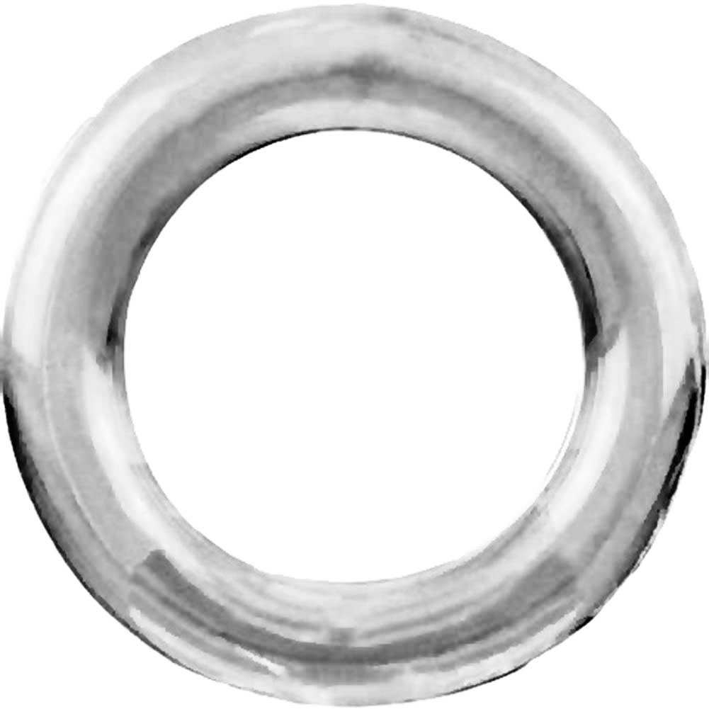 Screaming O Ringo XL Silicone Cockring Clear - View #3