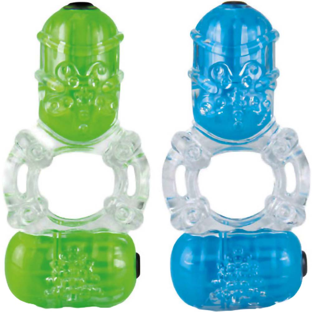 Screaming O ColorPoP Big O2 Vibrating Ring Assorted Colors - View #2