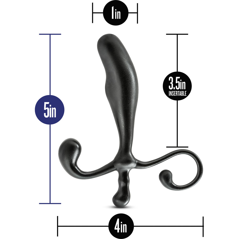 "Blush Performance Prostimulator VX1 Prostate Massager 5"" Black - View #1"