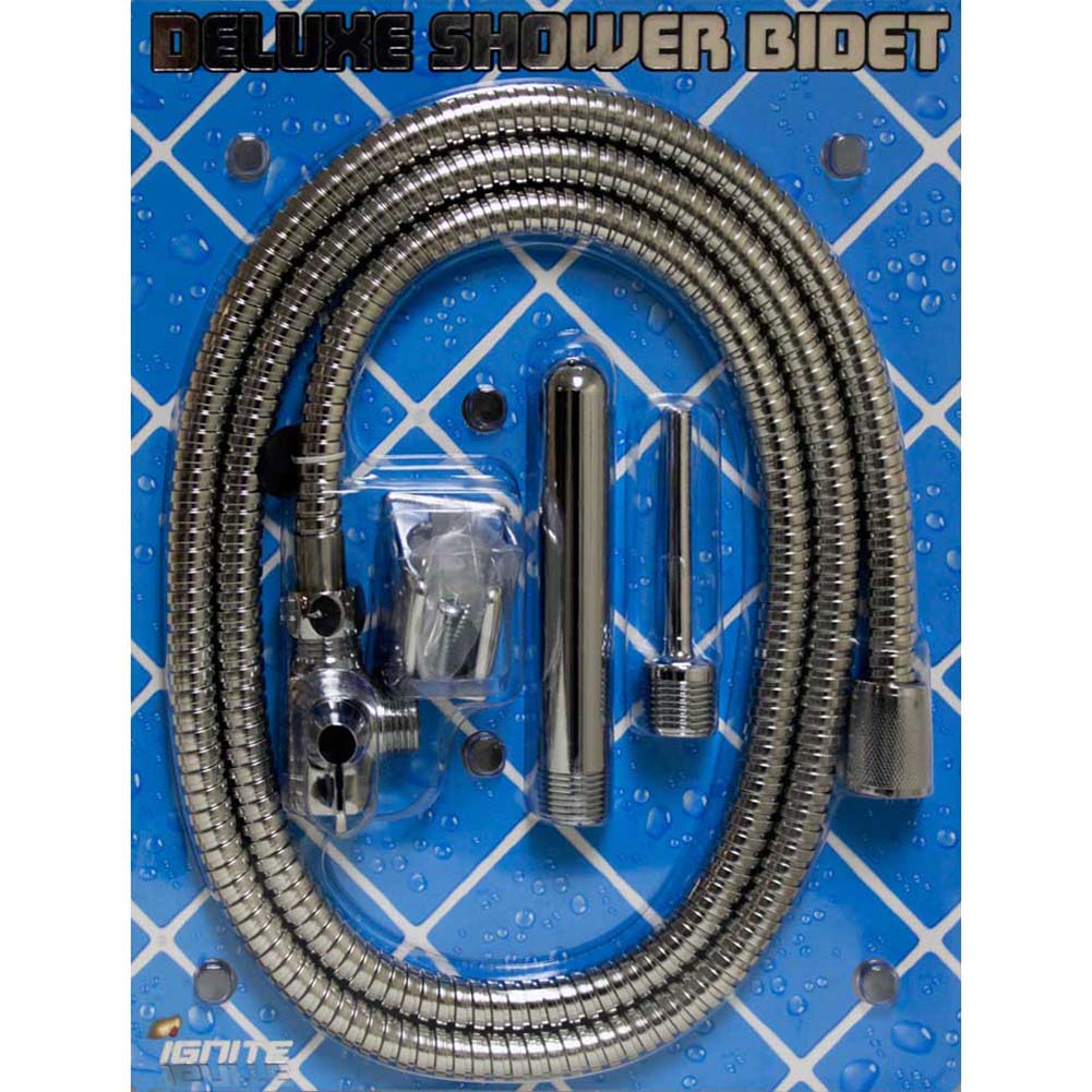 Ignite Stainless Steel Deluxe Shower Bidet Kit - View #3