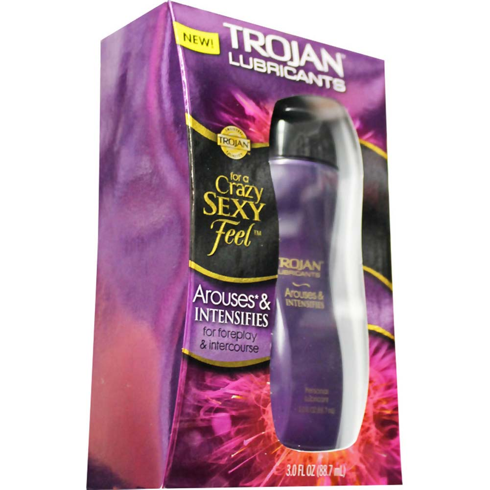 Trojan Lubricants Arouses and Intensifies Lubricant 3.0 Fl. Oz. - View #1