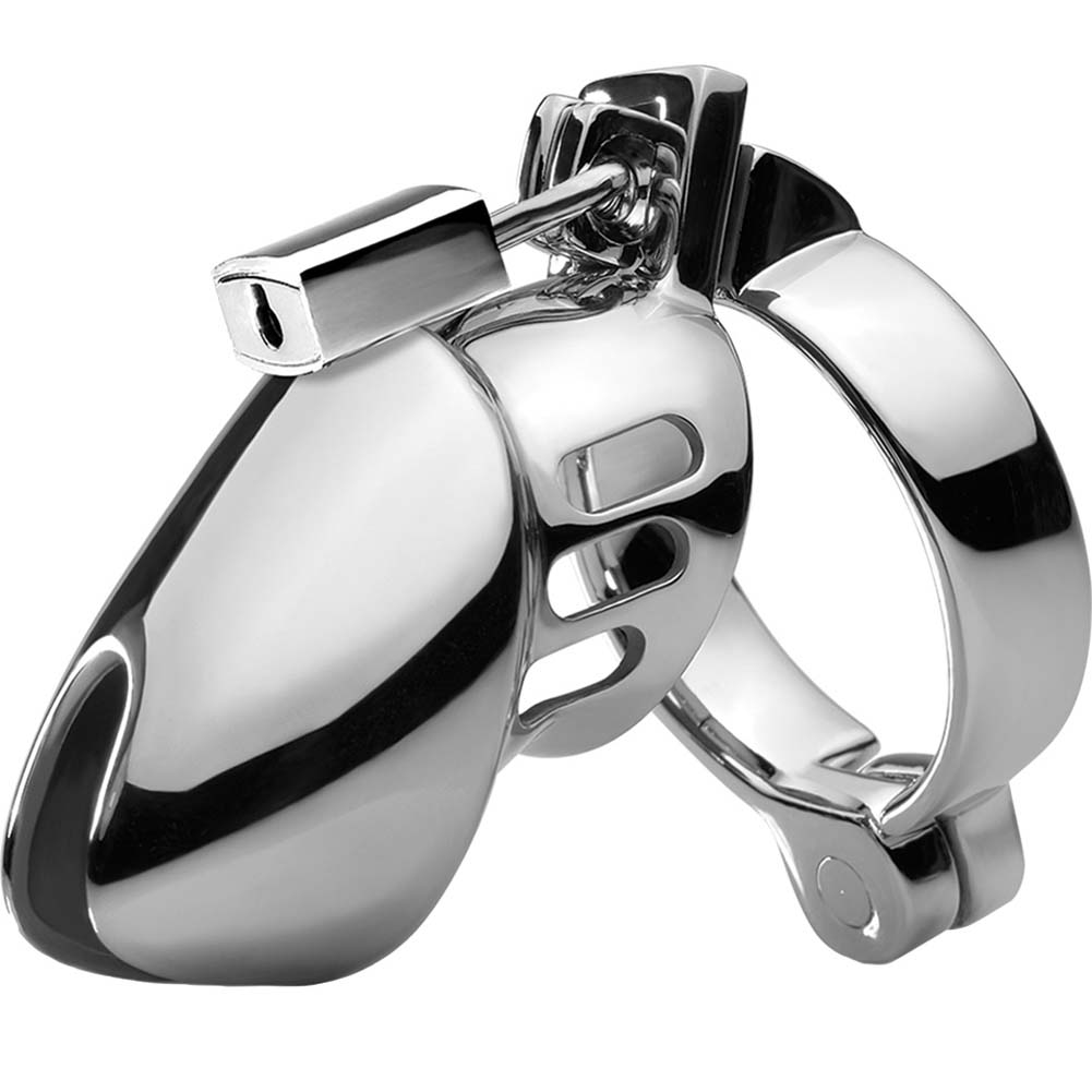 Metal Worx Chastity Head Cage Silver - View #2