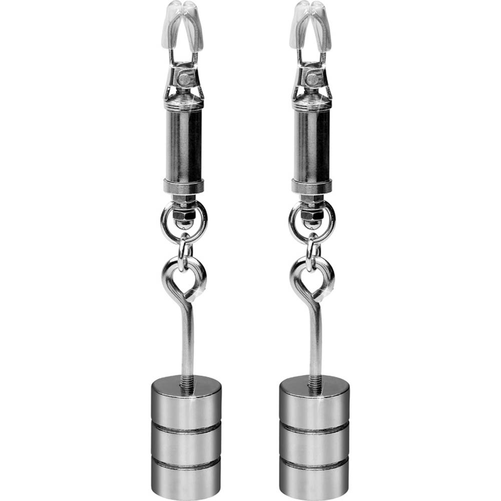 Metal Worx Nipple Clamps Silver - View #2