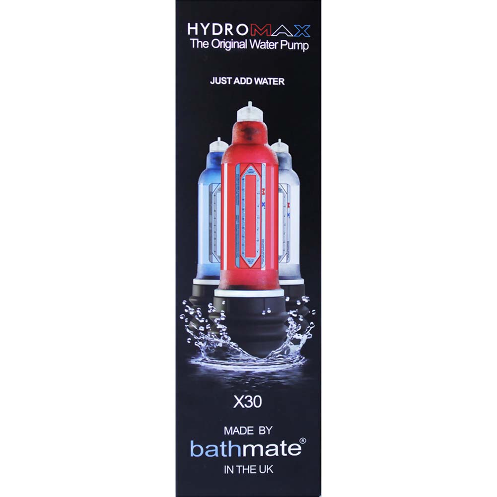 Bathmate Hydromax X30 Penis Enlargement Pump for Men Brilliant Red - View #1