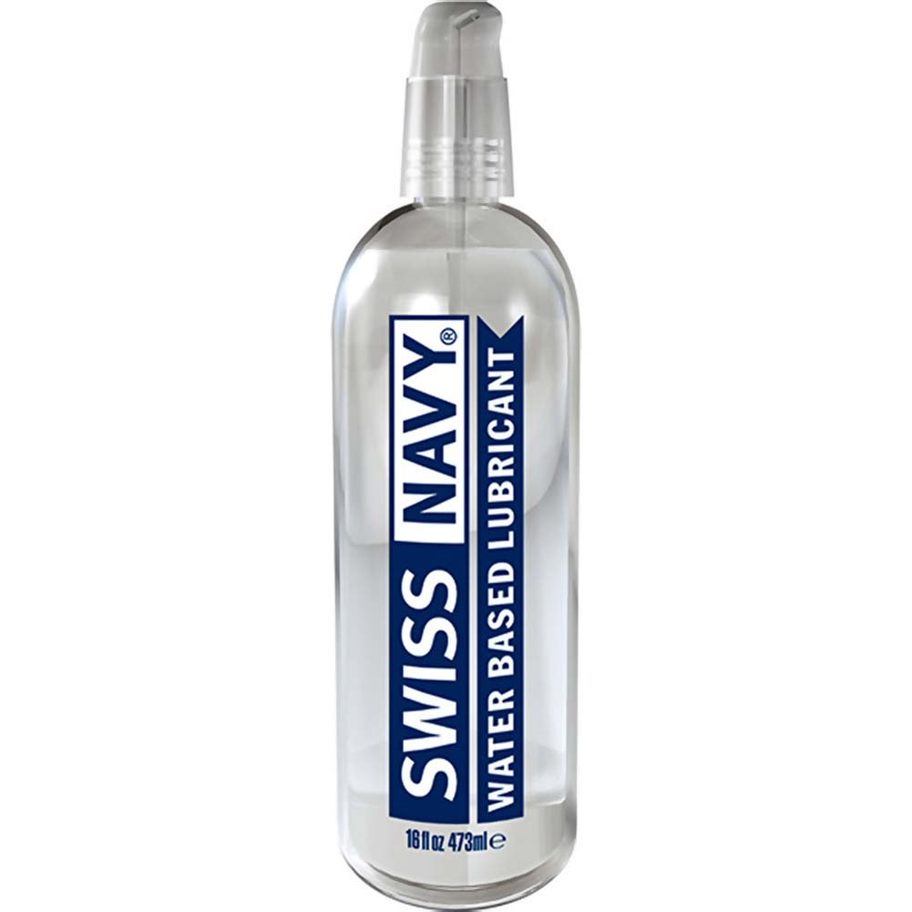 Swiss Navy Water Based Lubricant 16 Fl. Oz. - View #1