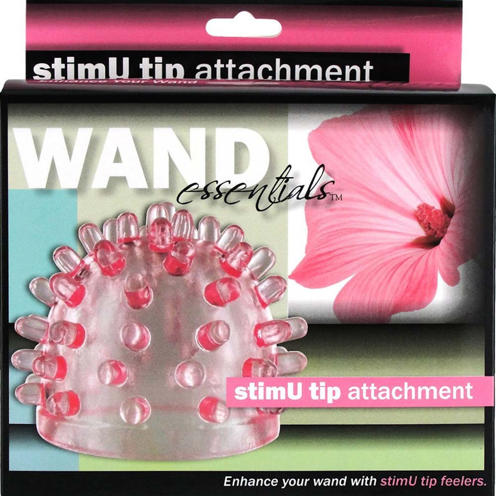 Wand Essentials Tingle Tip Attachment Pink - View #3