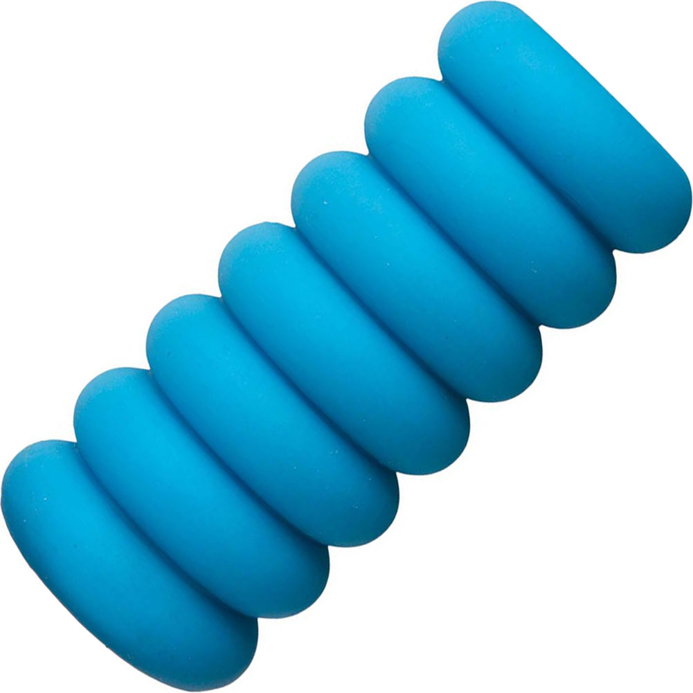 Mood Thrill UR3 Textured Masturbator for Men Blue - View #2