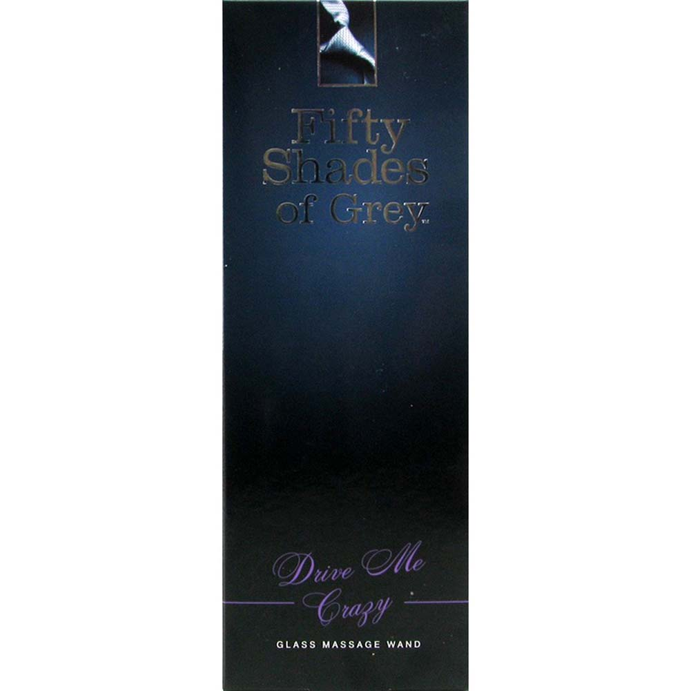 "Fifty Shades of Grey Drive Me Crazy Glass Wand 7.25"" - View #4"