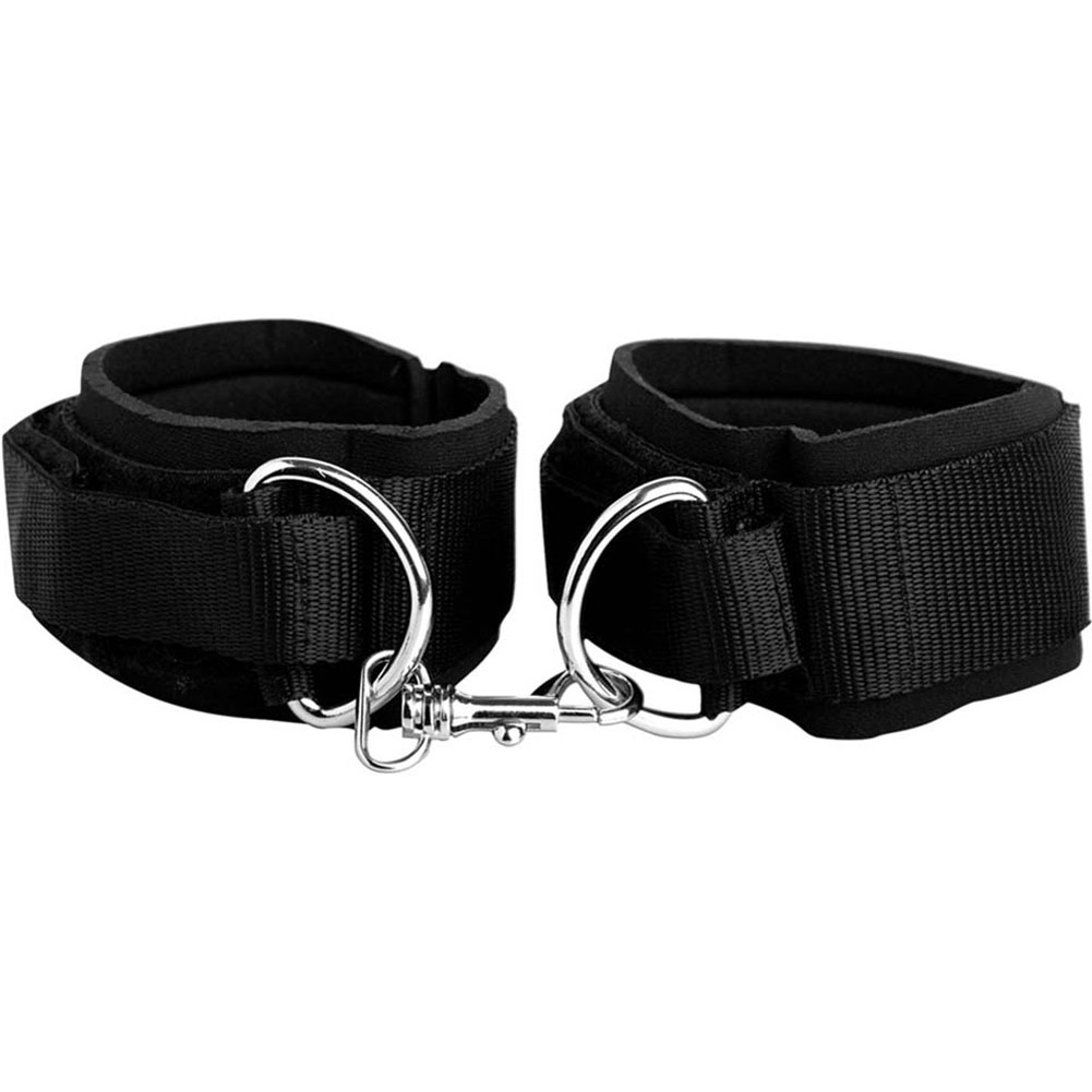 Fetish Fantasy Series Heavy Duty Cuffs Black - View #1