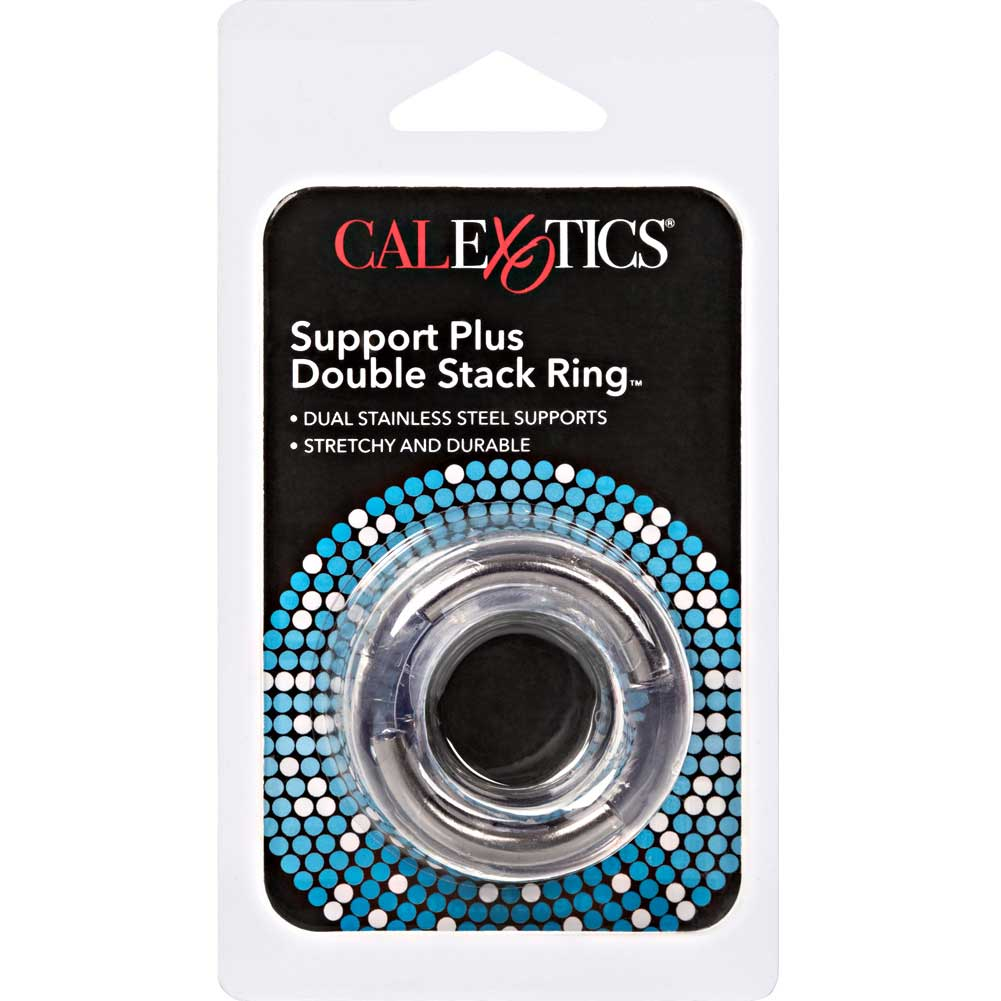Support Plus Double Stack Ring Clear - View #1