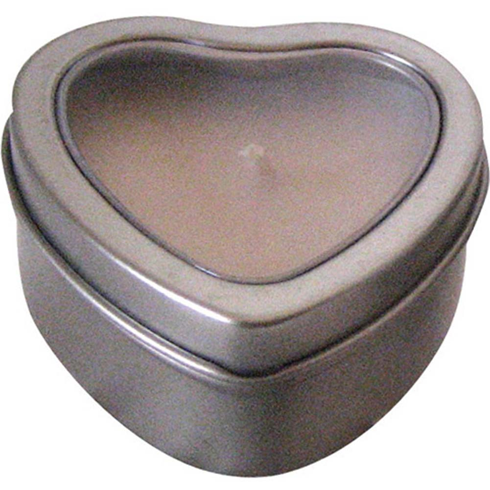 Hearts Massage Oil Candle Lavender-Vanilla 2 Oz. - View #1