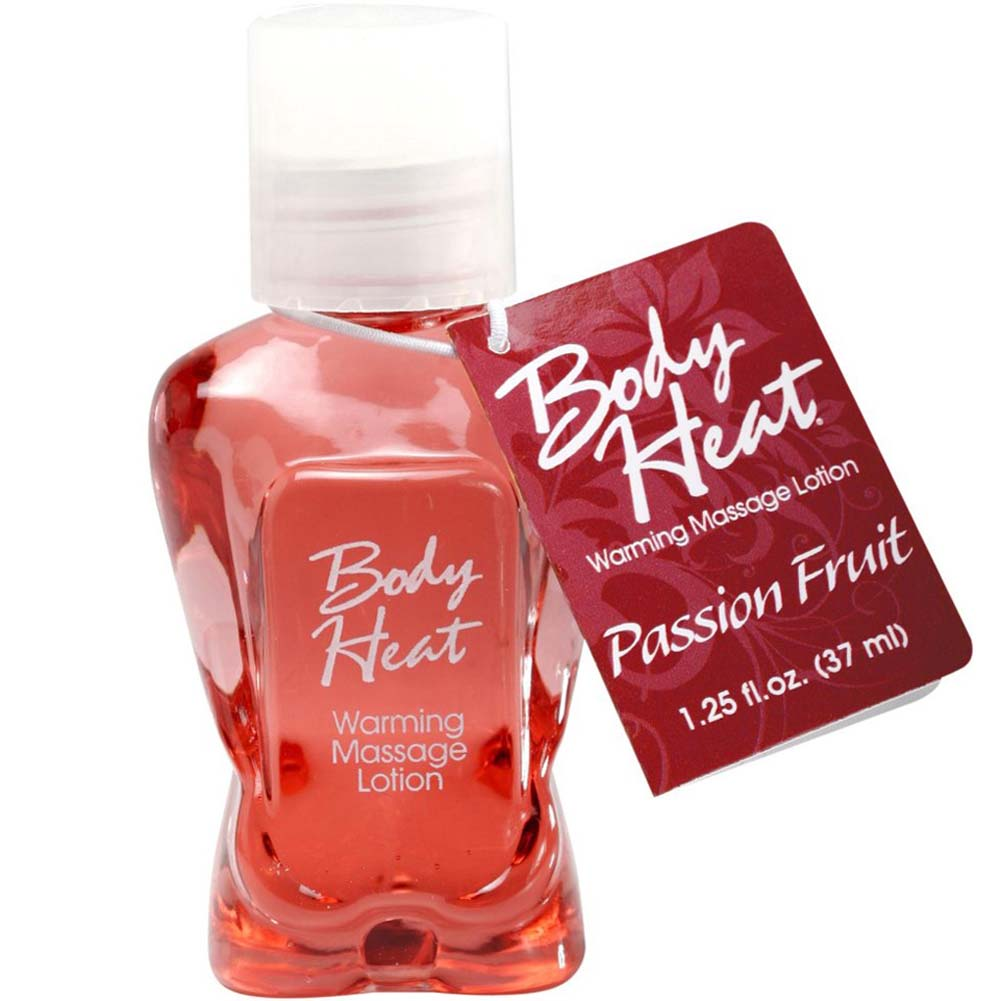 Body Heat Warming Massage Lotion 1.25 Fl.Oz 37 mL Passion Fruit - View #1