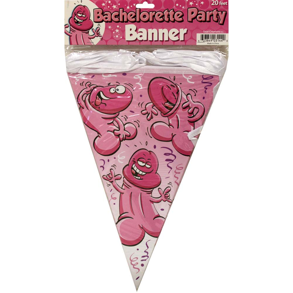 Bachelorette Party Pecker Banner - View #1