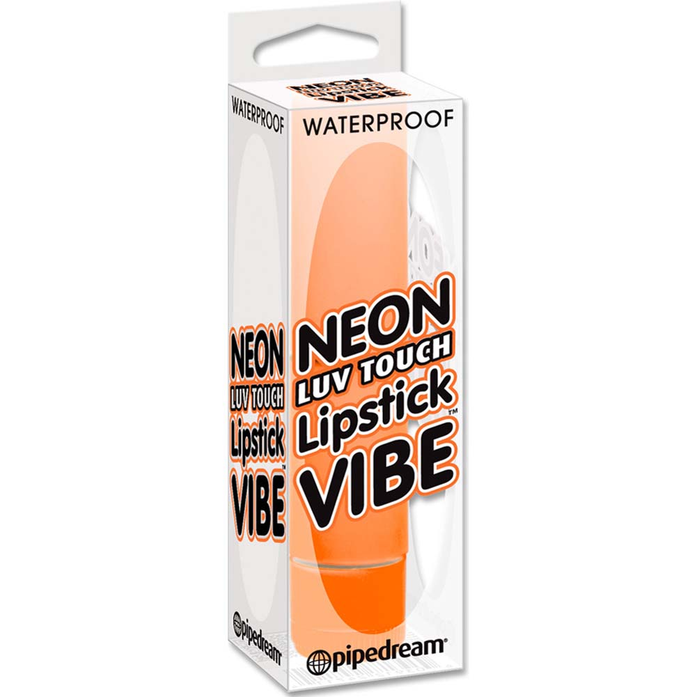 "Neon Luv Touch Waterproof Lipstick Vibe 3.5"" Orange - View #1"