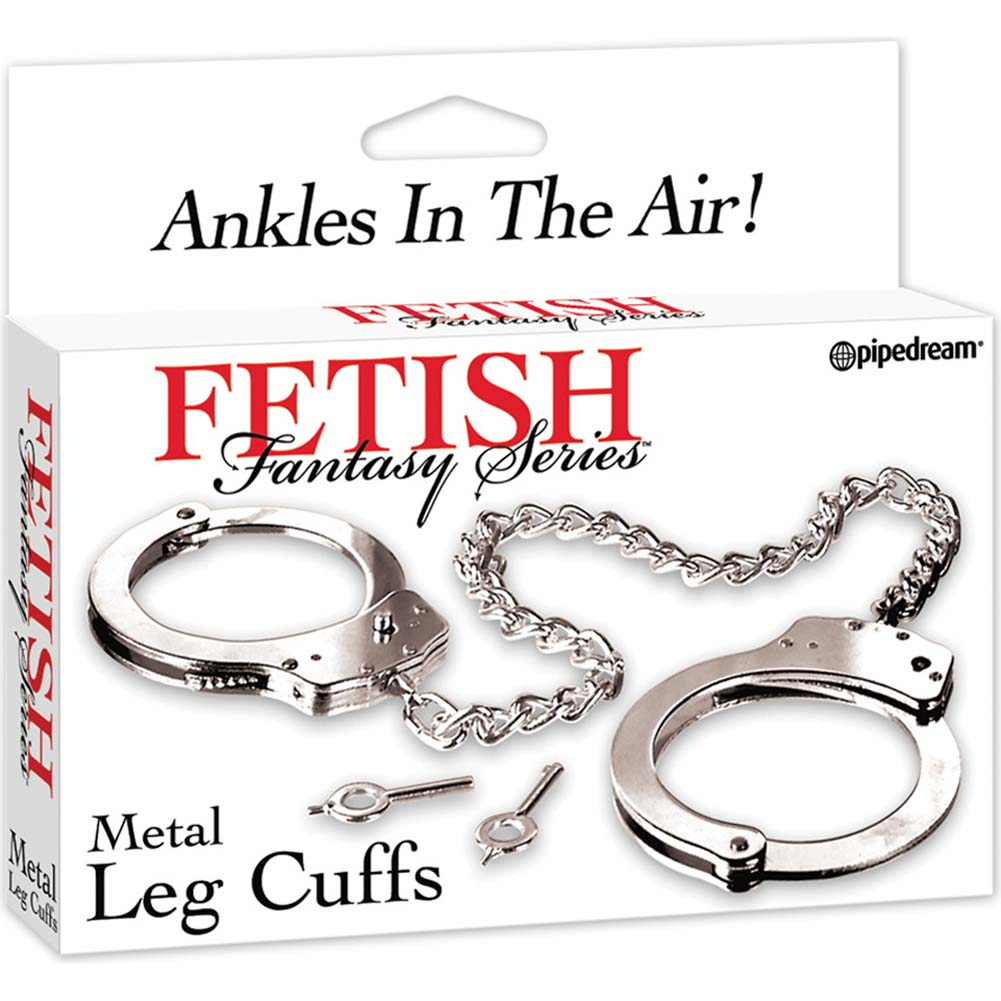 Fetish Fantasy Metal Leg Cuffs - View #1