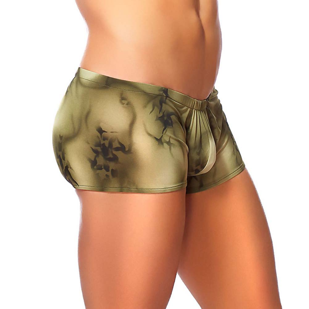 Male Power Skyview Pouch Short Extra Large Olive - View #1