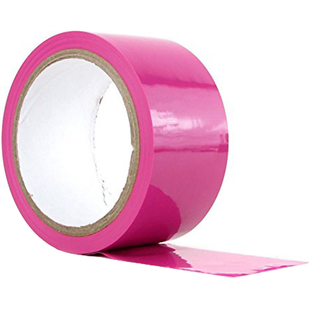Sex and Mischief SM Bondage Tape 30 Feet Pink - View #2