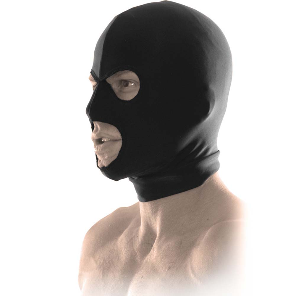 Fetish Fantasy Limited Edition Spandex Hood Black - View #2