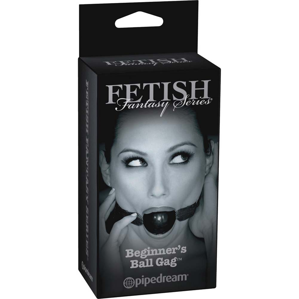 Fetish Fantasy Limited Edition Beginners Ball Gag Black - View #1