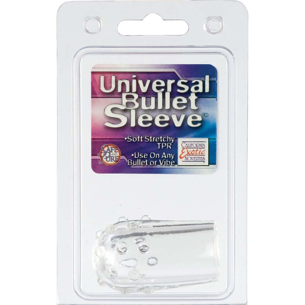 Universal Bullet Sleeve Clear - View #1