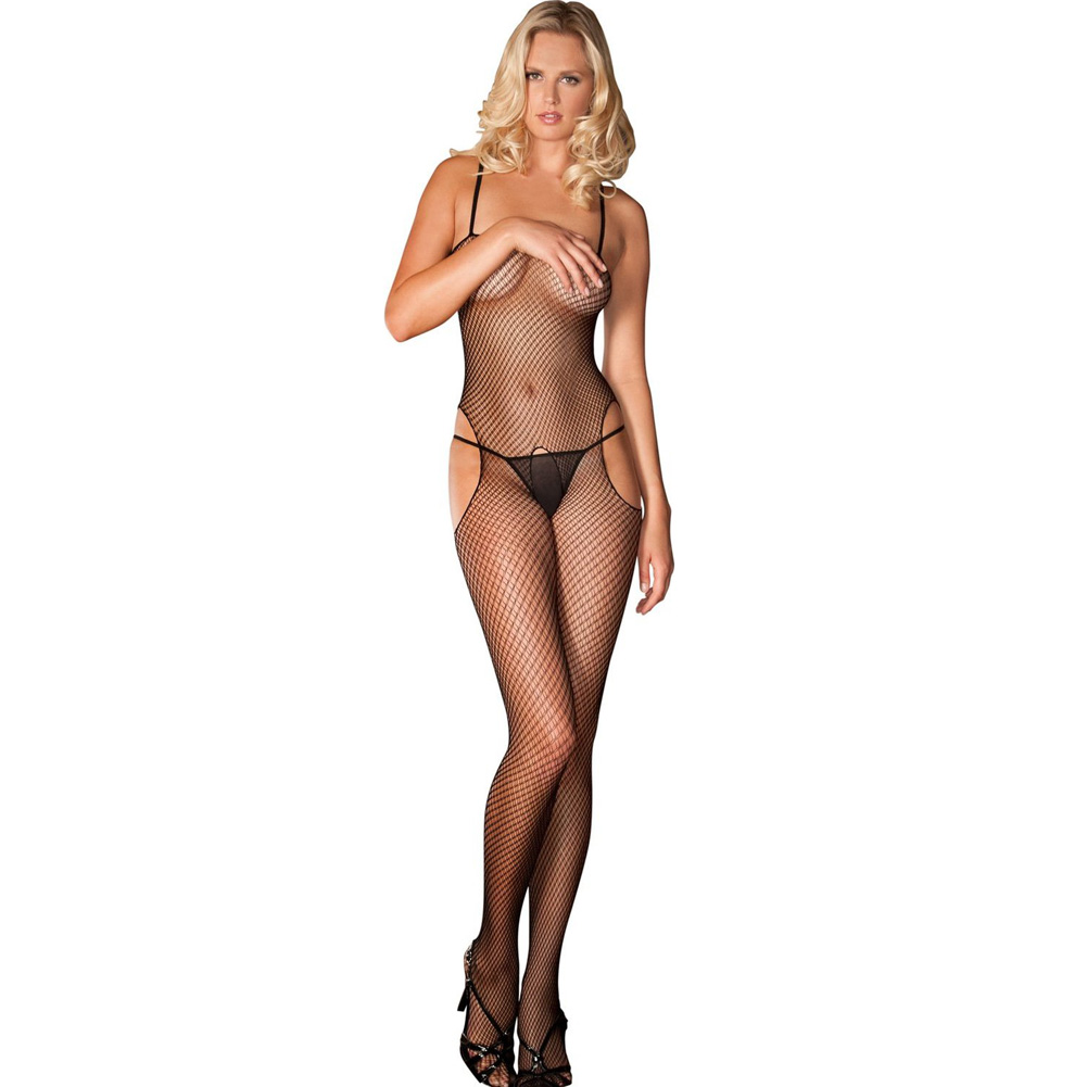 Sexy and Sensual Bodystocking One Size Black - View #1