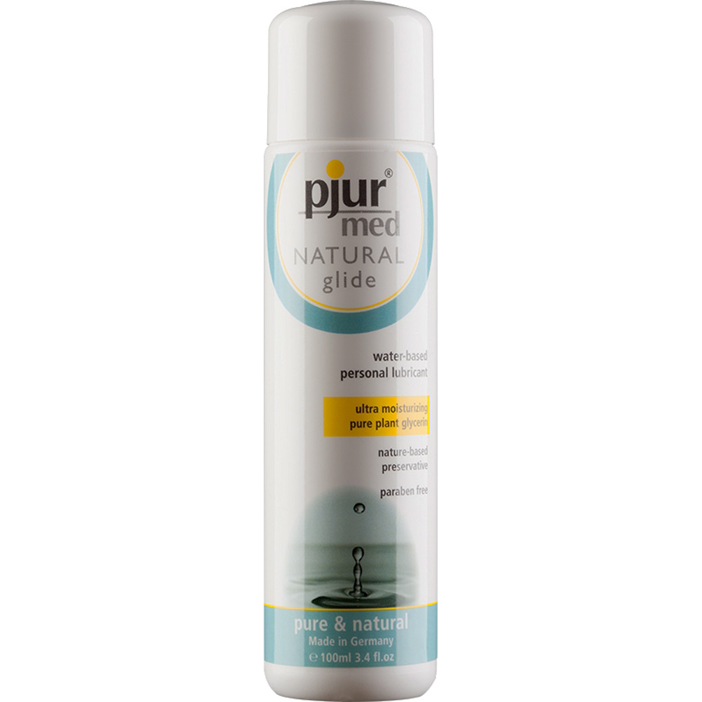 Pjur Med Natural Glide Water Based Personal Lubricant 3.4 Fl.Oz 100 mL - View #2