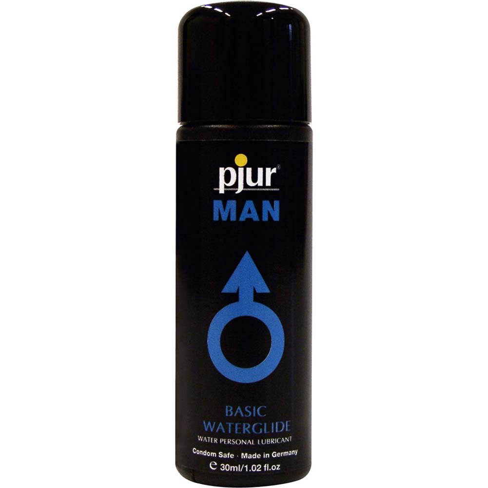 Pjur Man Basic Waterglide Water Based Lube 1 Fl. Oz. - View #1
