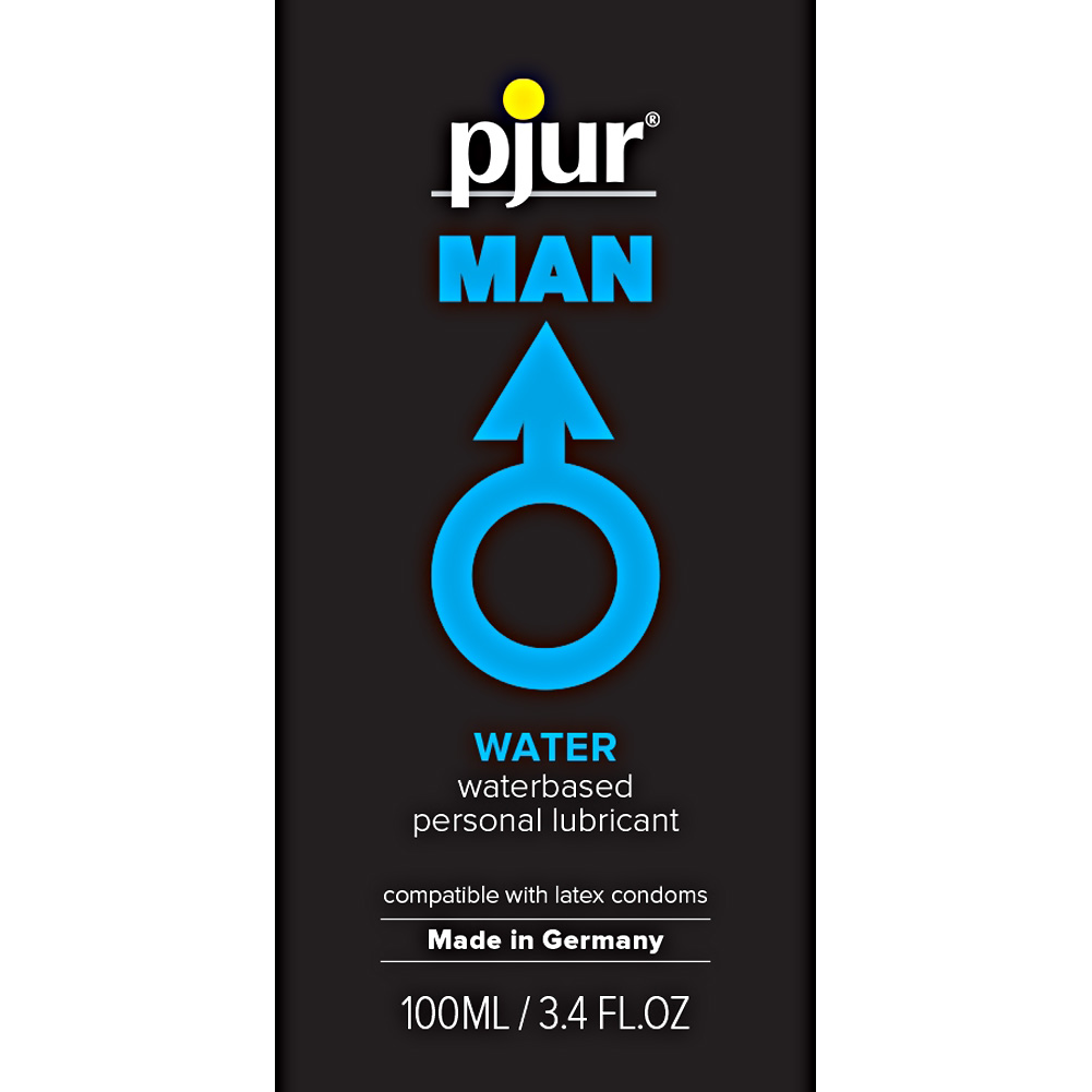 Pjur Man Basic Waterglide Water Based Lube 3.4 Fl. Oz. - View #1