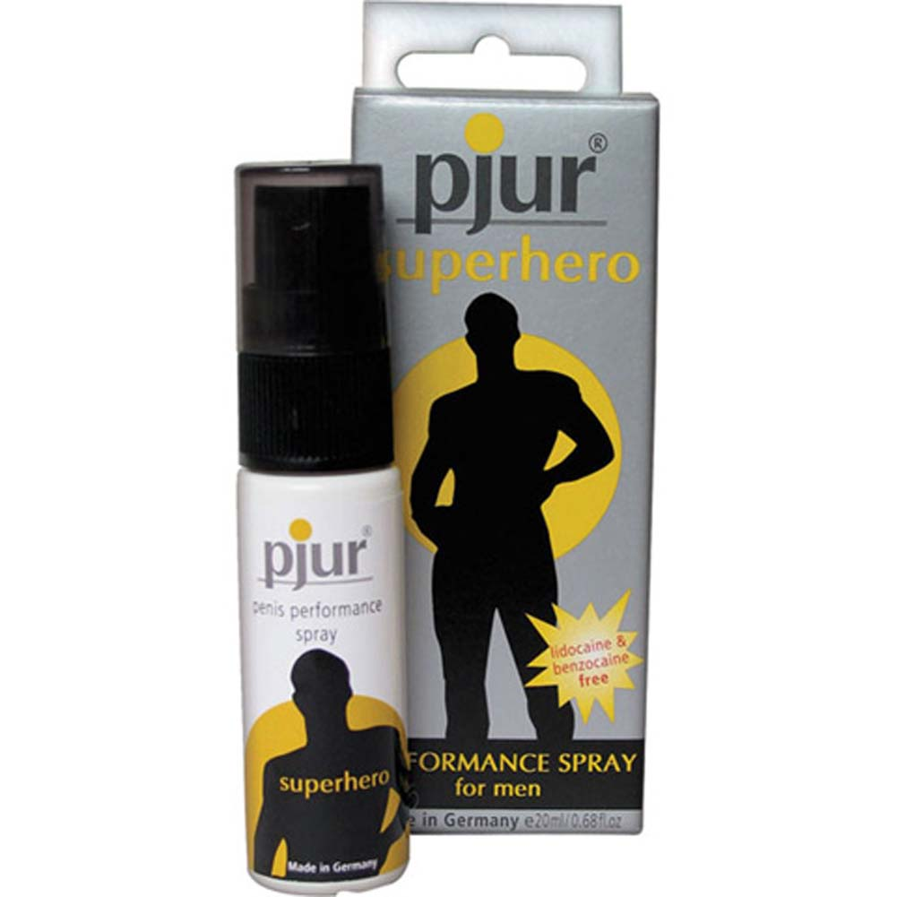 Pjur Superhero Performance Spray For Men 0.68 Fl. Oz. - View #1