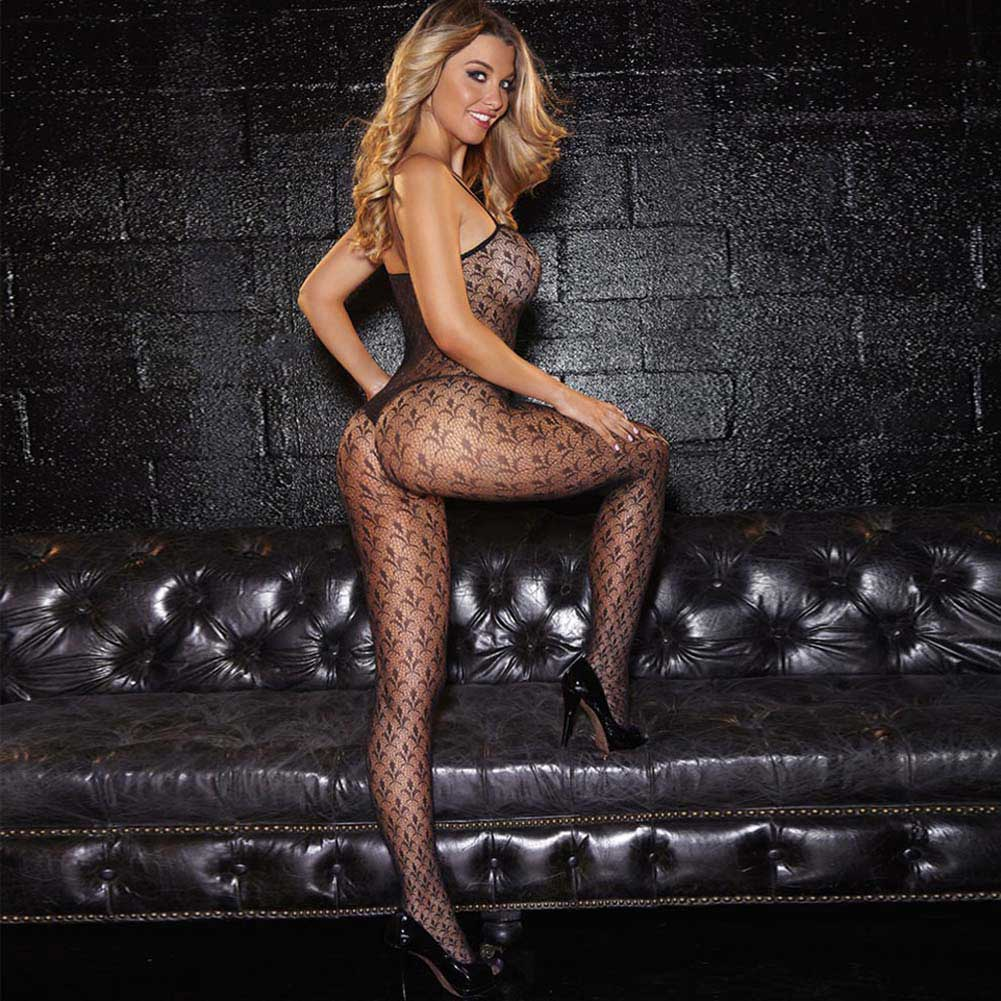 Hustler Crotchless Bodystocking - View #3