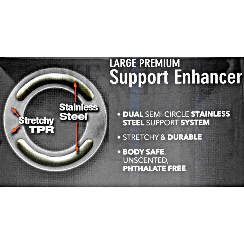 "Apollo Premium Support Enhancer Standard 1.75"" Smoke - View #1"