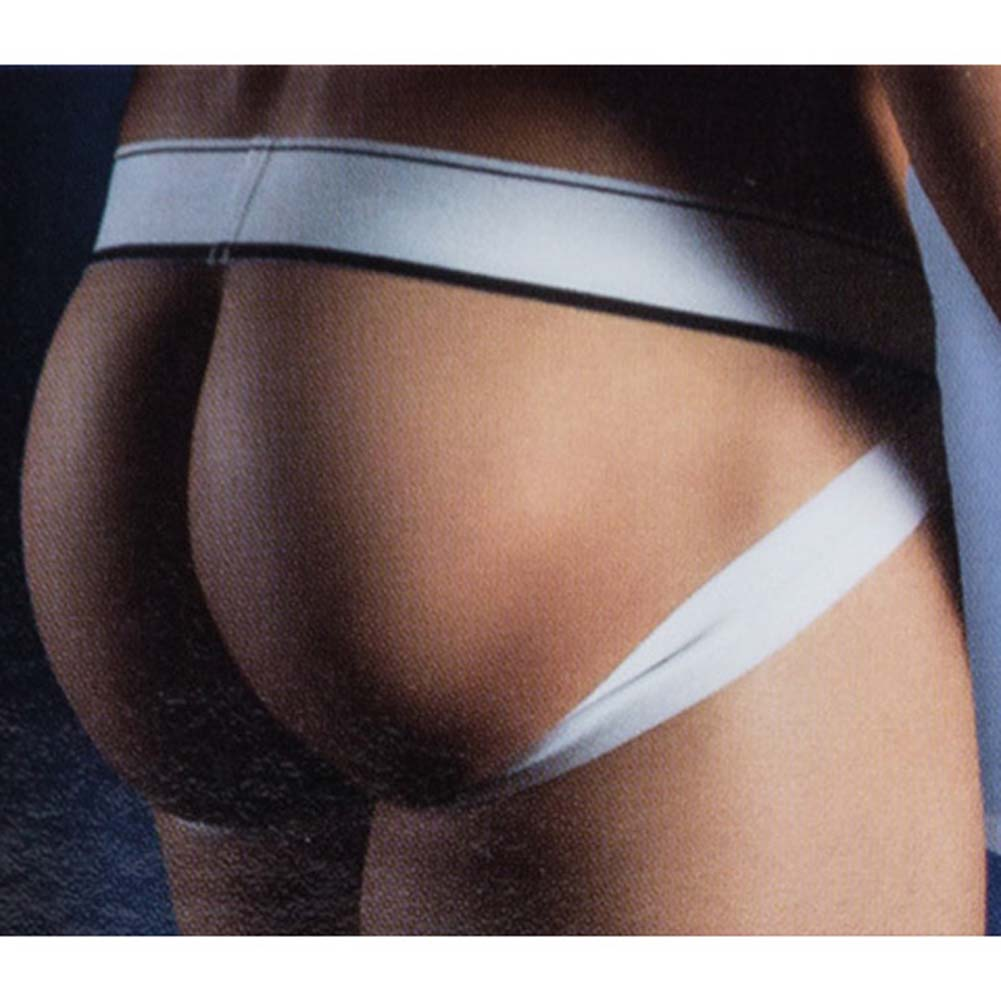 California Exotics Apollo Jock with C-Ring Black Medium/Large Size - View #2