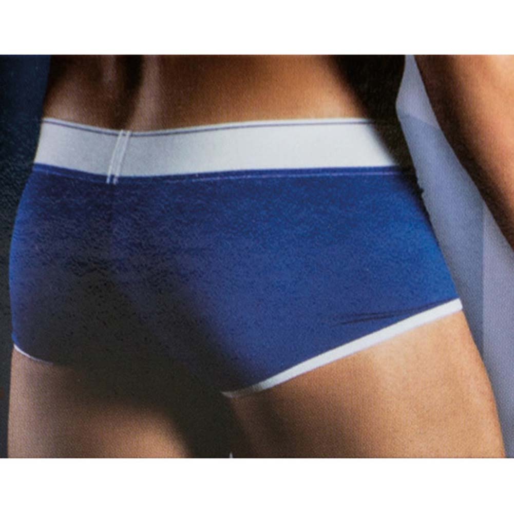 California Exotics Apollo Boxer with C-Ring Blue Large/Extra Large Size - View #2