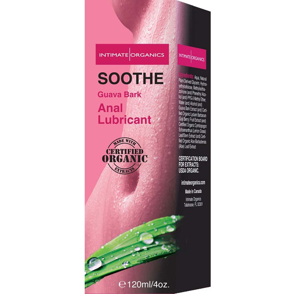 Intimate Organics Soothe Anal Lubricant Guava Bark 4 Fl.Oz. - View #2