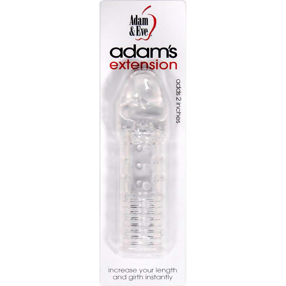 Adam and Eve Adams Extension Clear - View #1