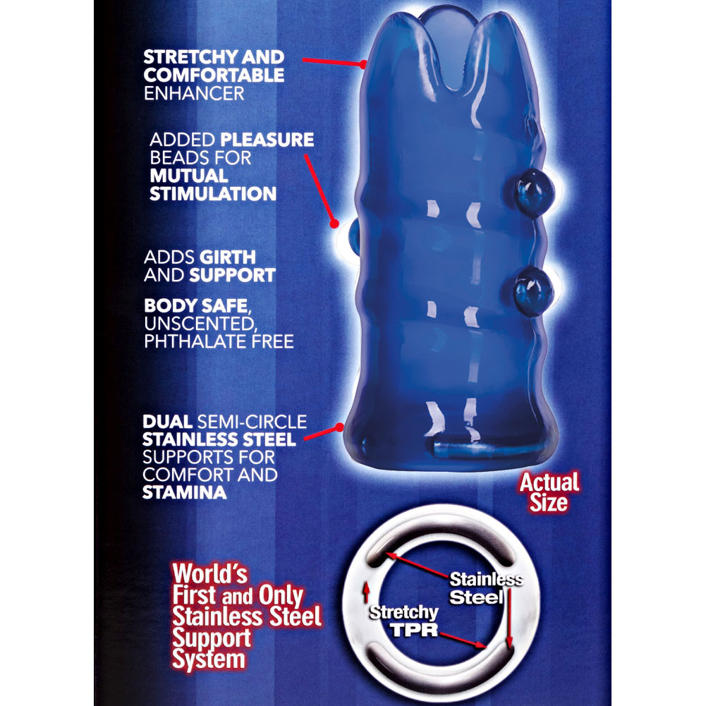 Apollo Premium Girth Enhancer for Men Blue - View #1