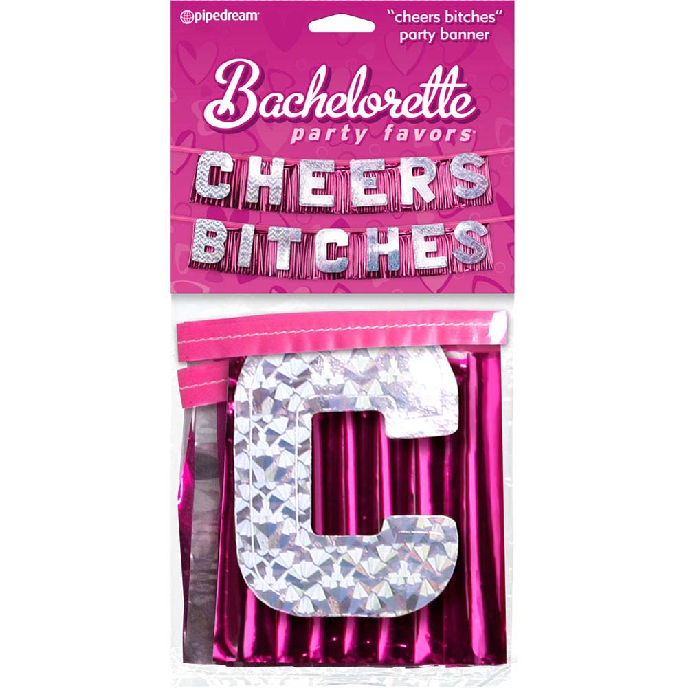 Bachelorette Party Favors Cheers Bitches Party Banner - View #1