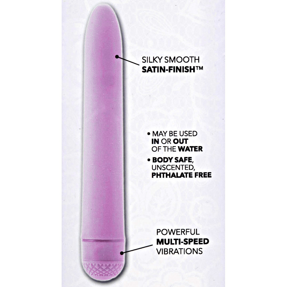 """CalExotics First Time Power Vibe Intimate Massager 6"""" Purple - View #1"""